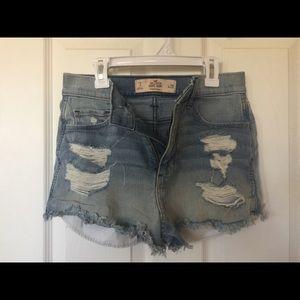 High-Waisted Hollister Shorts
